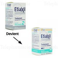 ETIAXIL AISSELLES Détr PS Roll-on/15ml