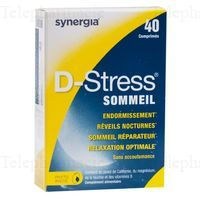 D-STRESS SOMMEIL 40 CPS