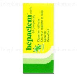 HEPACLEM PHYTO CPR 30*PROMO