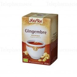 Gingembre - Infusion Bio - 17 sachets