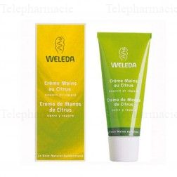 WELEDA SOINS CORPS Cr mains ongl Citrus 50ml