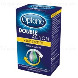 OPTONE DOUBLE ACTION YEUX IRRITE