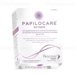 PAPILOCARE GEL VAGINAL CAN 5