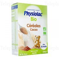 PHYSIOLAC CEREALES BIO CHOCOLAT