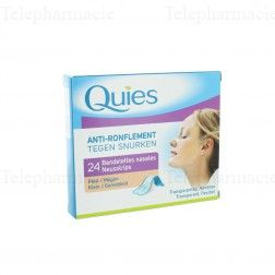 QUIES Bdlette nasale anti-ronflem PM B/24