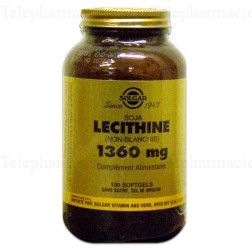 SOLGAR LECITHINE 1360 GEL BTE/100