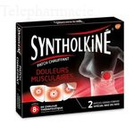 SyntholKiné Patch Chauffant douleurs musculaires dos 2 Patchs