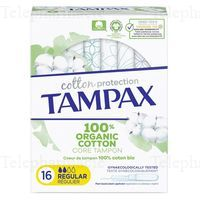 TAMPAX BIO COTTON PROTECTION