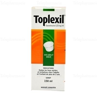 TOPLEXIL SIR 0,33MG FL 150ML